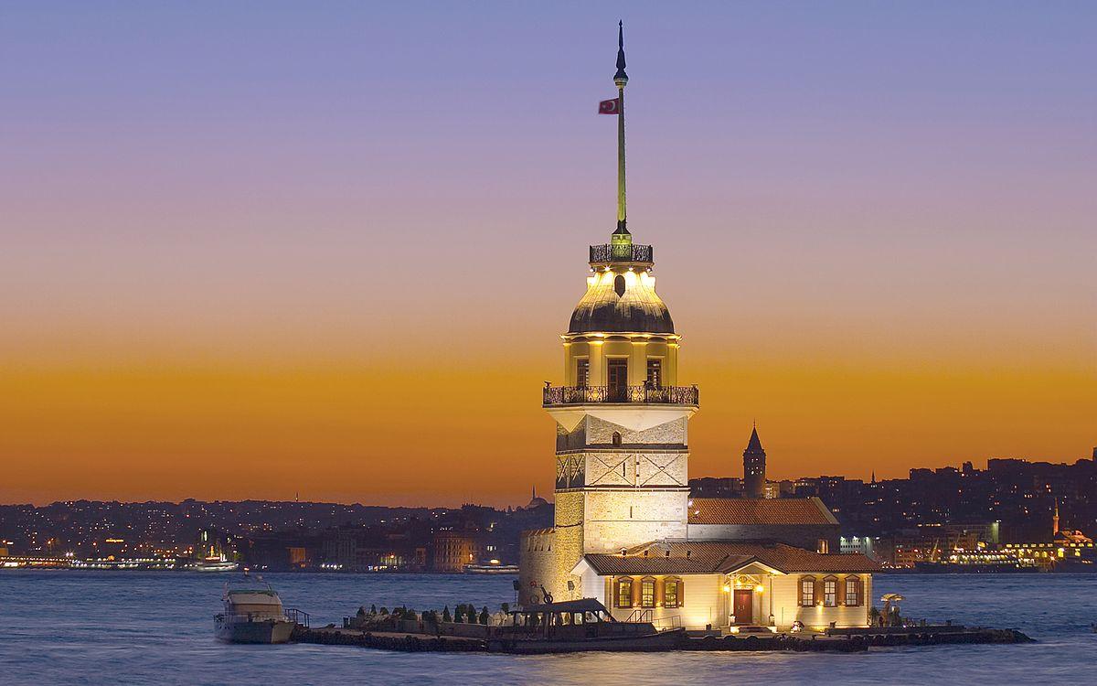 برج میدن در استانبول