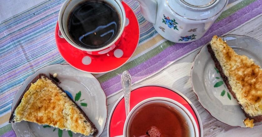 صبحانه در باتومی