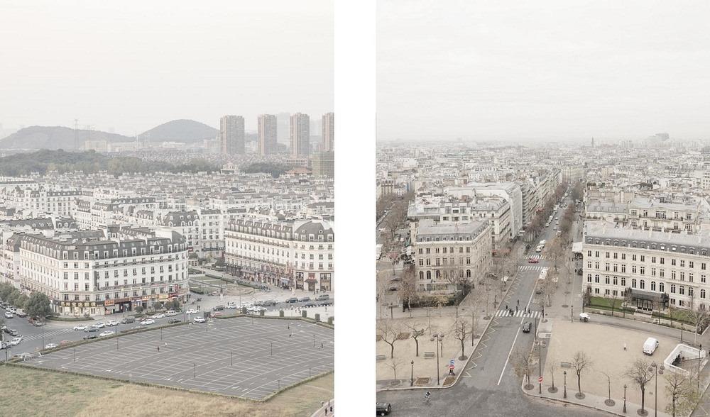 شهر پاریس در چین