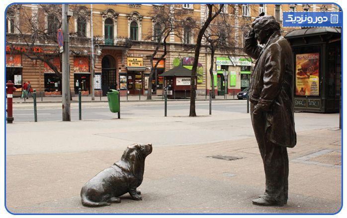 مجسمه ستوان کلمبو در بوداپست