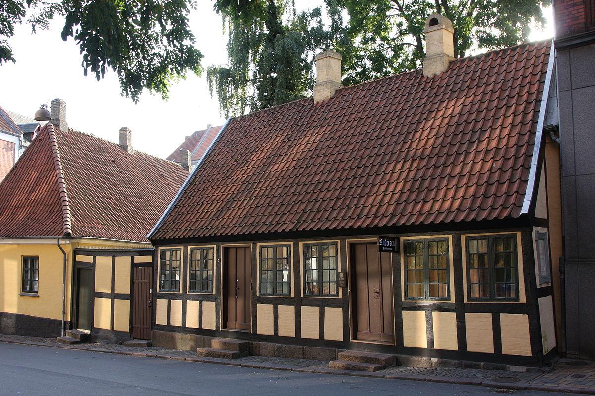 سفر به دانمارک - خانه هانس کریستین اندرسون