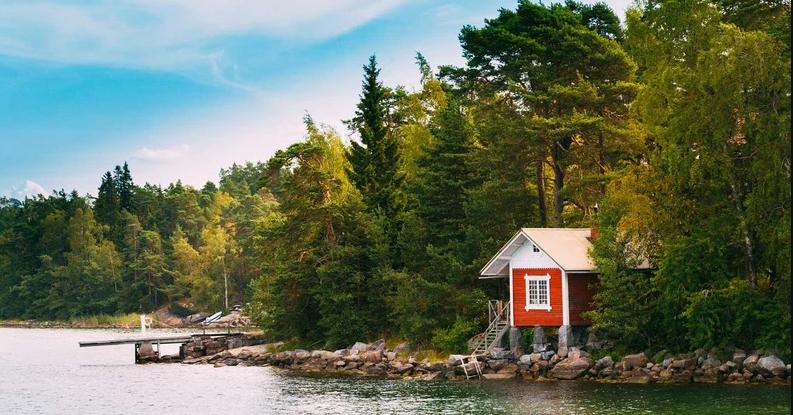 جزیره سوپرشی در فنلاند