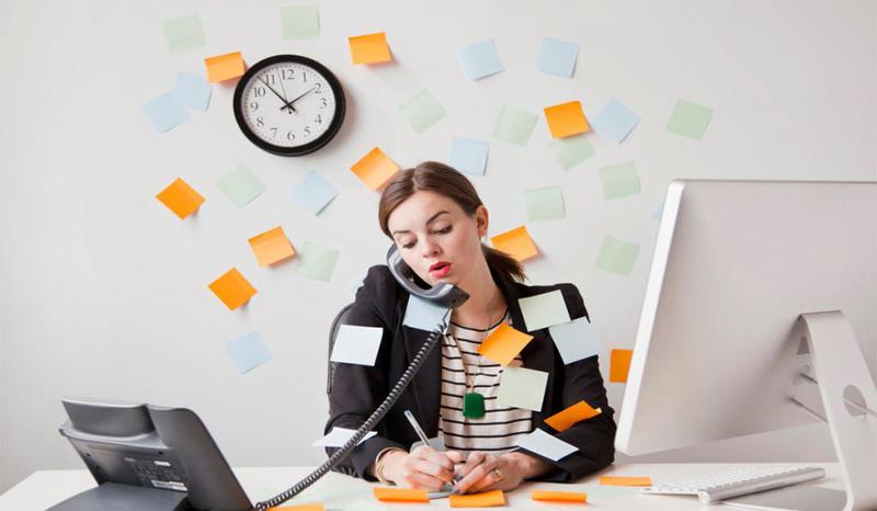 استرس و فشار کار
