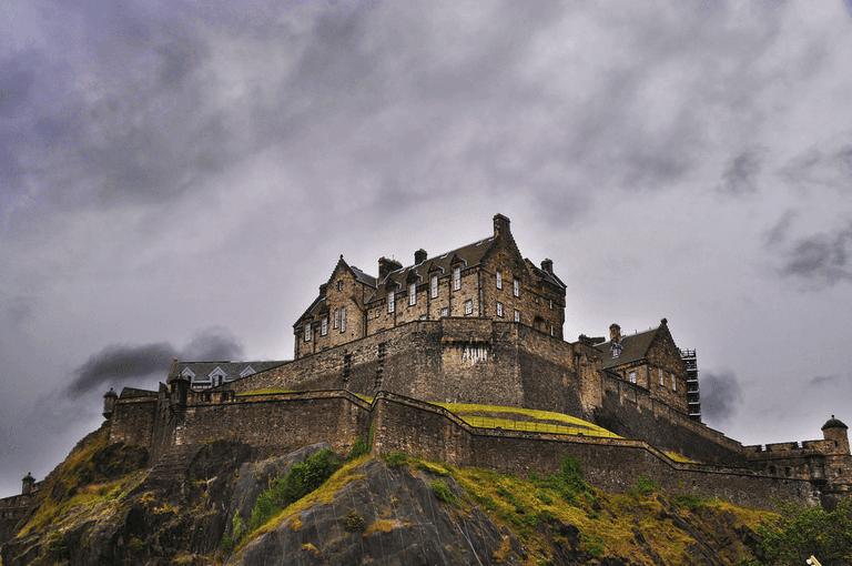 جاذبه های گردشگری اسکاتلند - قلعه ادینبرا