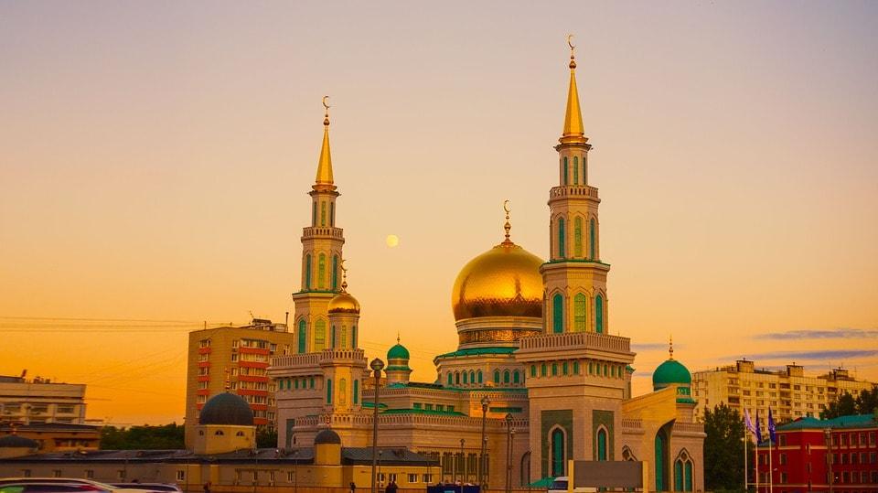 مسلمانان روسیه - مسجم جامع مسکو