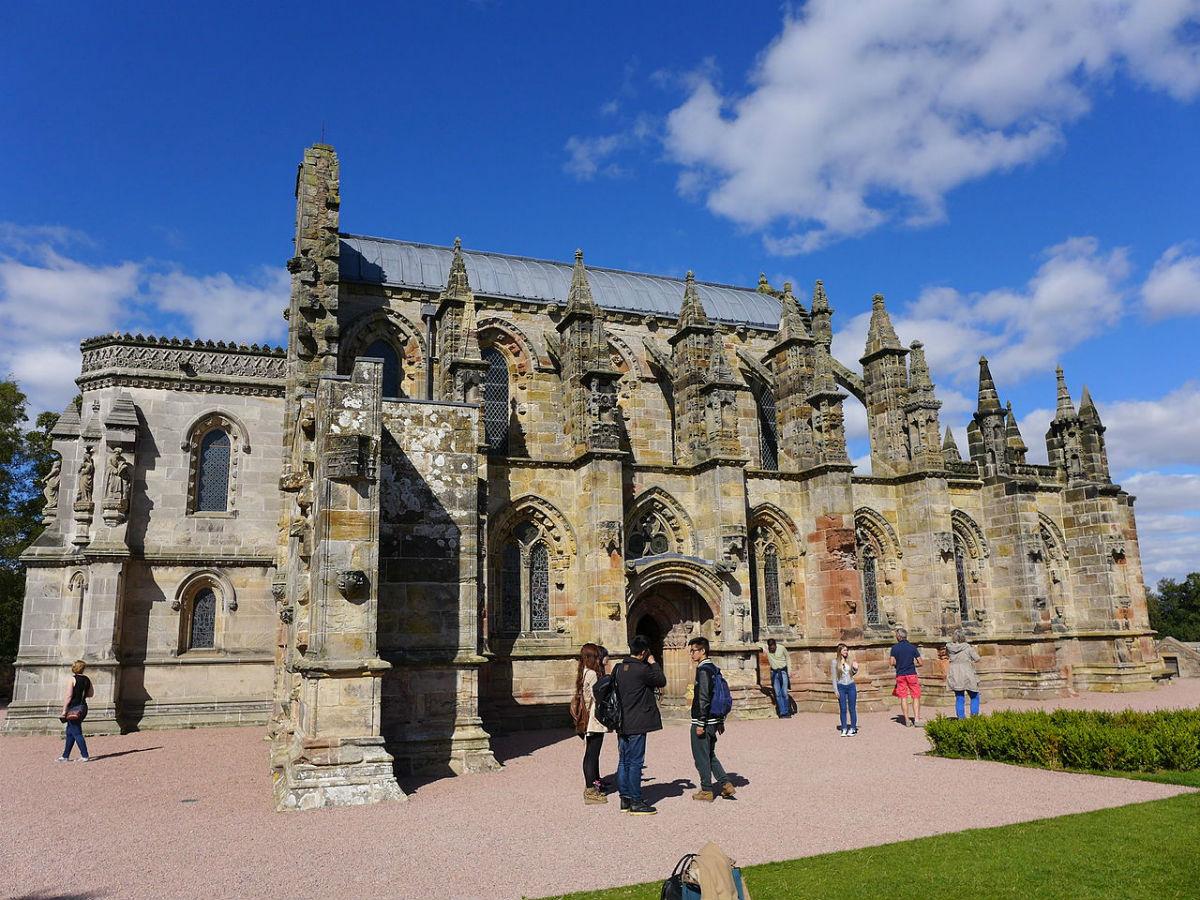جاذبه های گردشگری اسکاتلند - کلیسای راسلین
