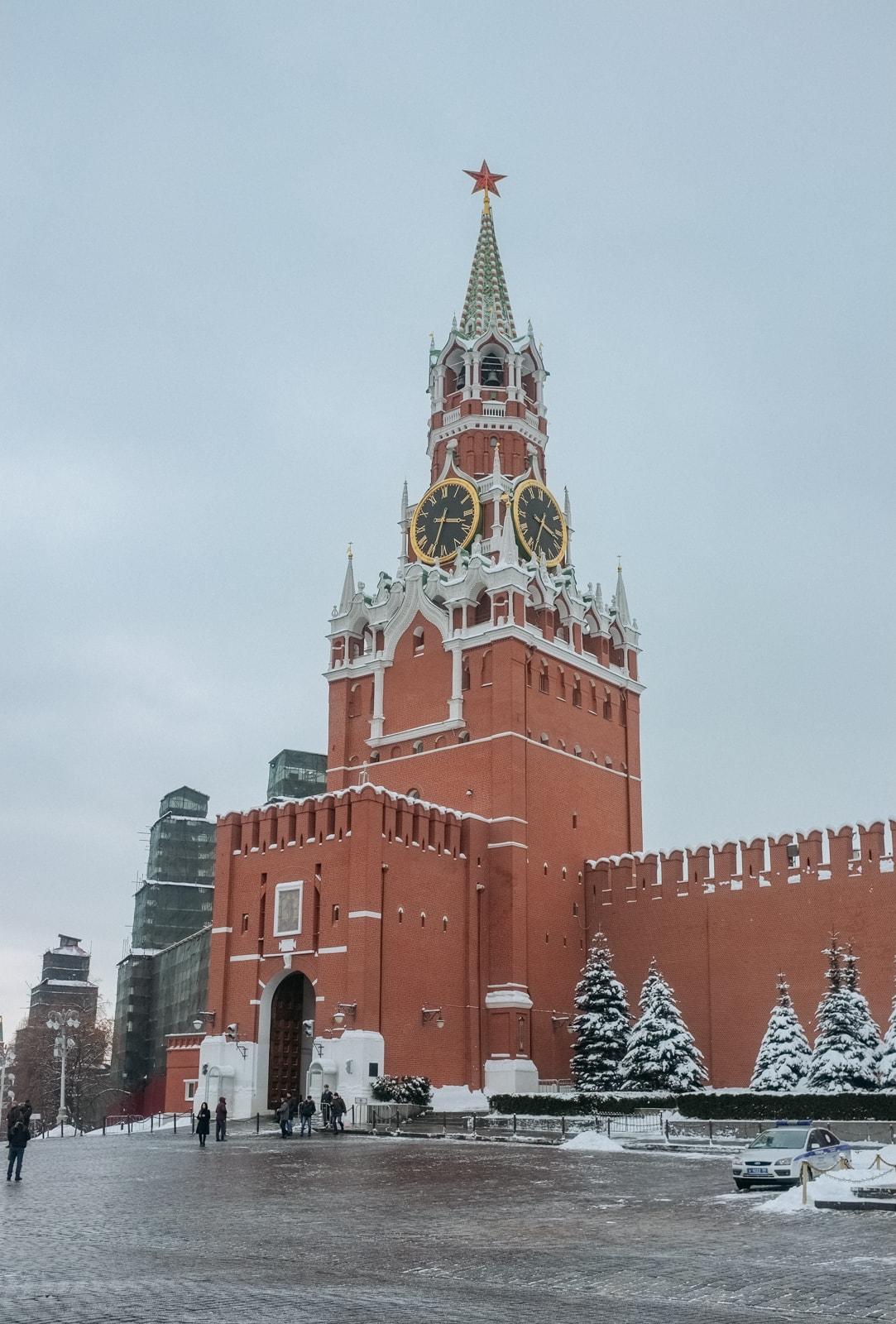 سفر به مسکو - کاخ کرملین