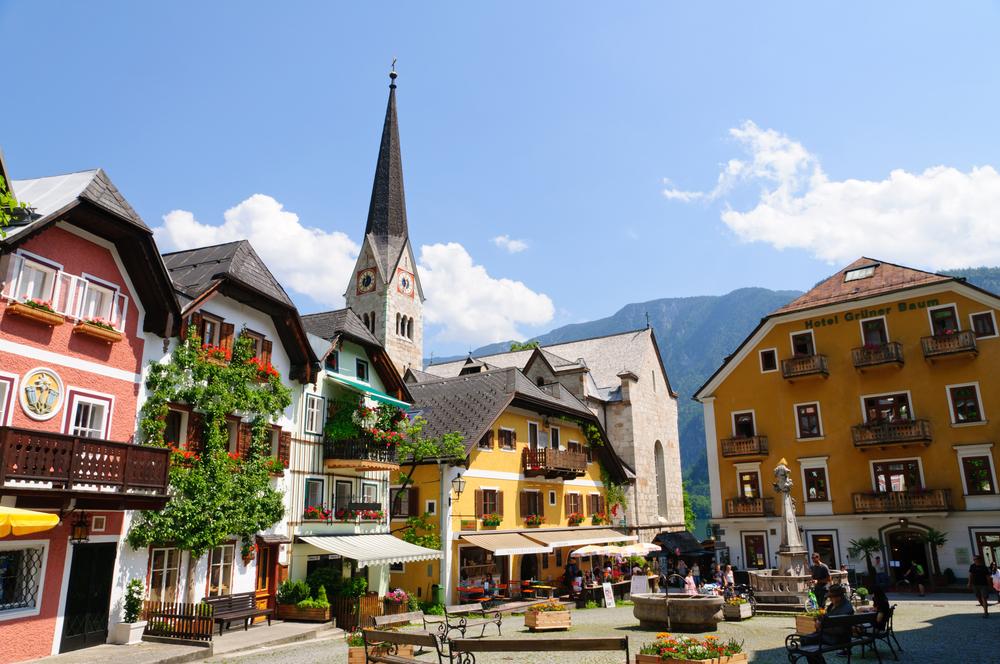 جاذبه های اتریش - هالشتات