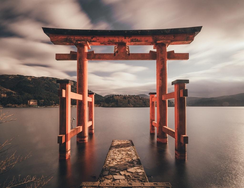 معبد شینتو در ژاپن