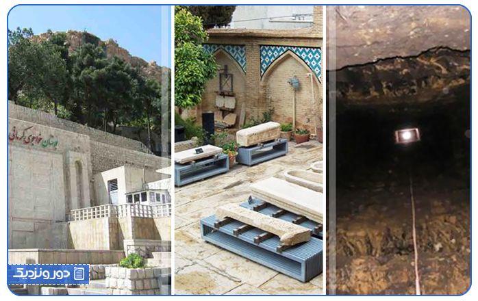 غار قلعه بندر از حیرت انگیزترین جاذبه های گردشگری شیراز