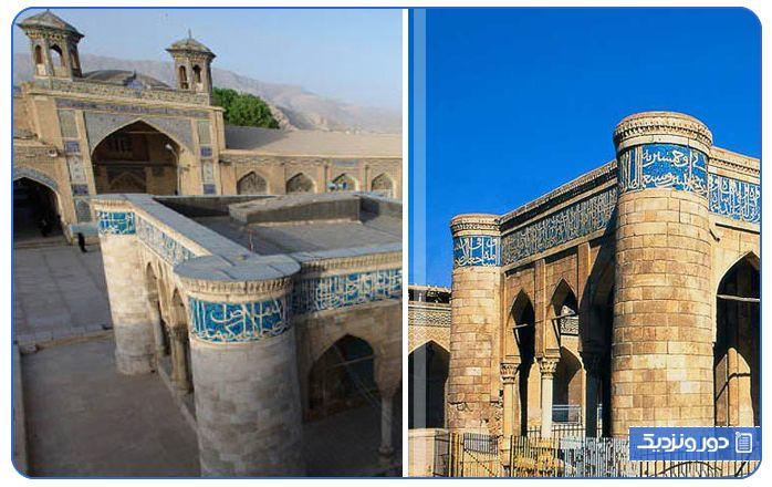 مسجد جامع عتیق یکی از اصلی ترین جاذبه های مذهبی شیراز