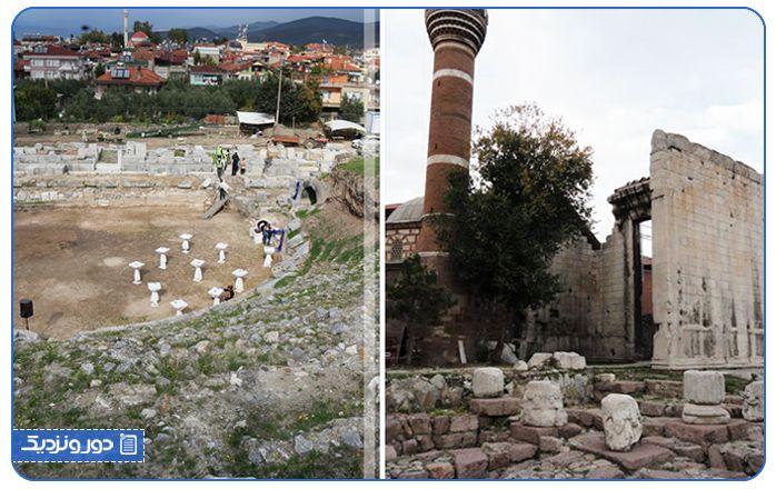 معبد آگوستوس یکی دیگر از جاذبههای آنکارا