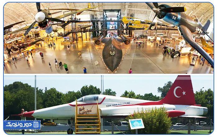 مکانهای دیدنی آنکارا و بازدید از موزه هوانوردی این شهر