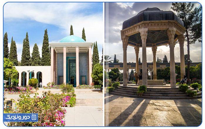 پرطرفدارترین جاذبه های گردشگری شیراز