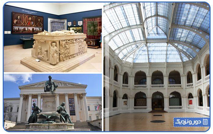 موزه هنرهای زیبا از مکان های تفریحی بوداپست