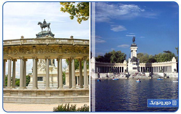 پارک رتیرو مادرید از دیگر جاذبه های گردشگری مادرید