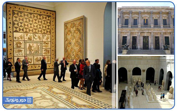 موزه باستان شناسی از جمله بناهای تاریخی در میان جاذبه های توریستی مادرید