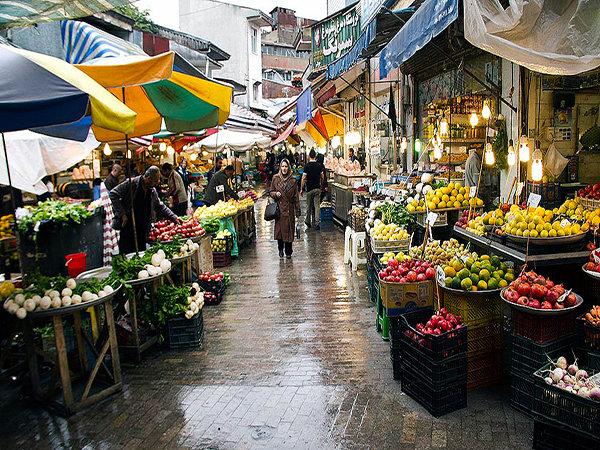 بازار رشت از جاذبه های گردشگری رشت