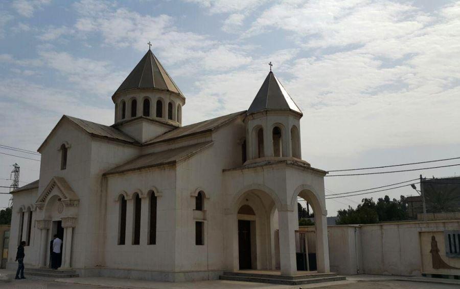 کلیسای کاراپت از جاذبه های گردشگری آبادان