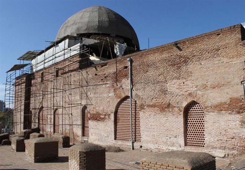 مسجد جامع اردبیل از مکان های تفریحی اردبیل