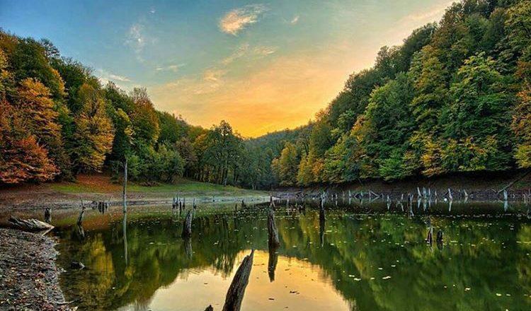 دریاچه چورت از جاذبه های گردشگری ساری