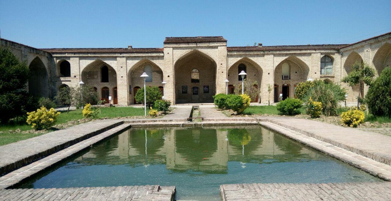 فرح آباد تاریخی از جاذبه های گردشگری شهر ساری