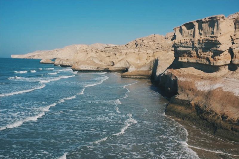 ساحل بنود از جاذبه های دیدنی عسلویه