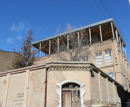 عمارت احمد زاده از جاذبه های گردشگری سنندج
