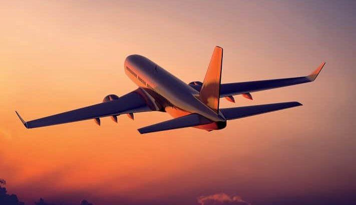 خط هوایی برای رسیدن به مقصد
