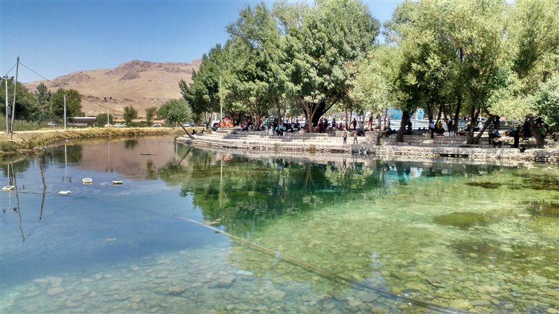 چشمههای شهرکرد و مکانهای ماهیگیری شهرکرد