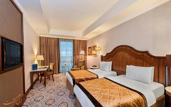 اتاقهای هتل الیت ورد