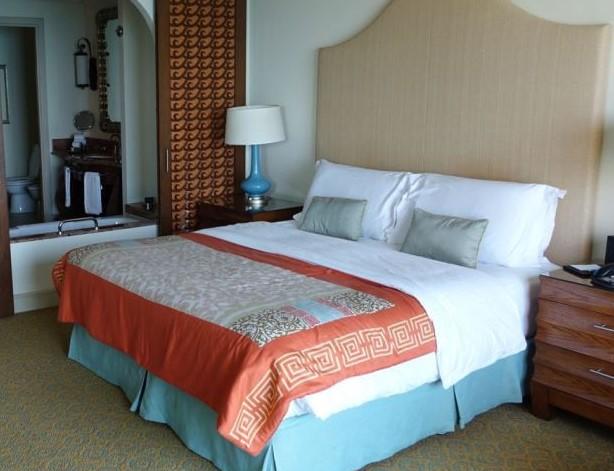 ویژگی اتاق های هتل آتلانتیس دبی