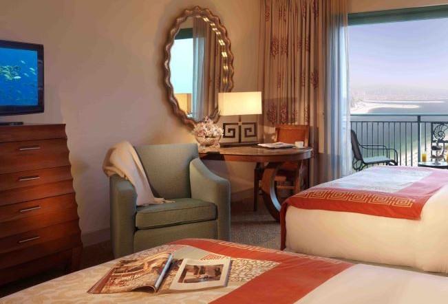 اتاق های لوکس هتل آتلانتیس دبی