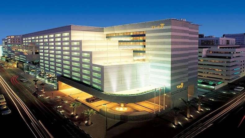 هتل تاج دبی یکی از هتل های معروف دبی
