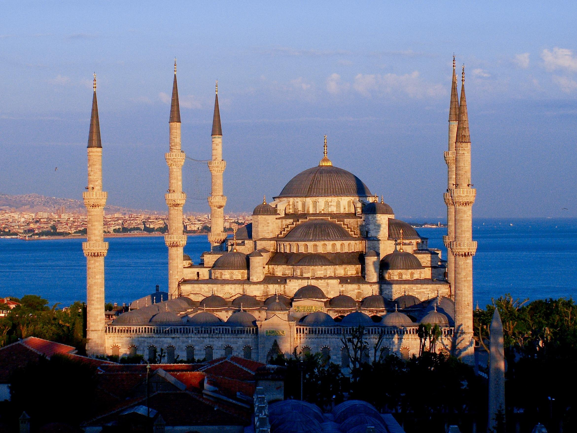 مسجد سلطان احمد از آثار تاریخی استانبول