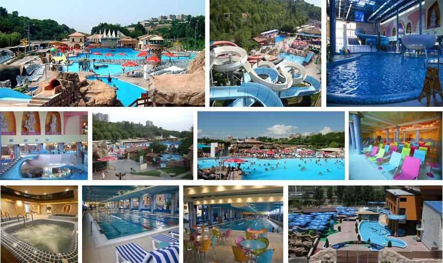 امکانات پارک آبی ایروان