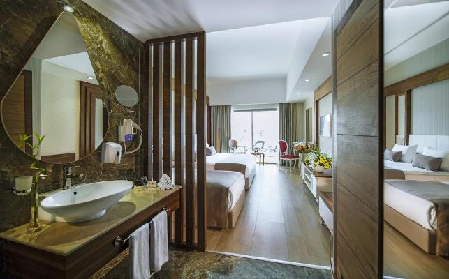 اتاق های هتل پورت نیچر آنتالیا