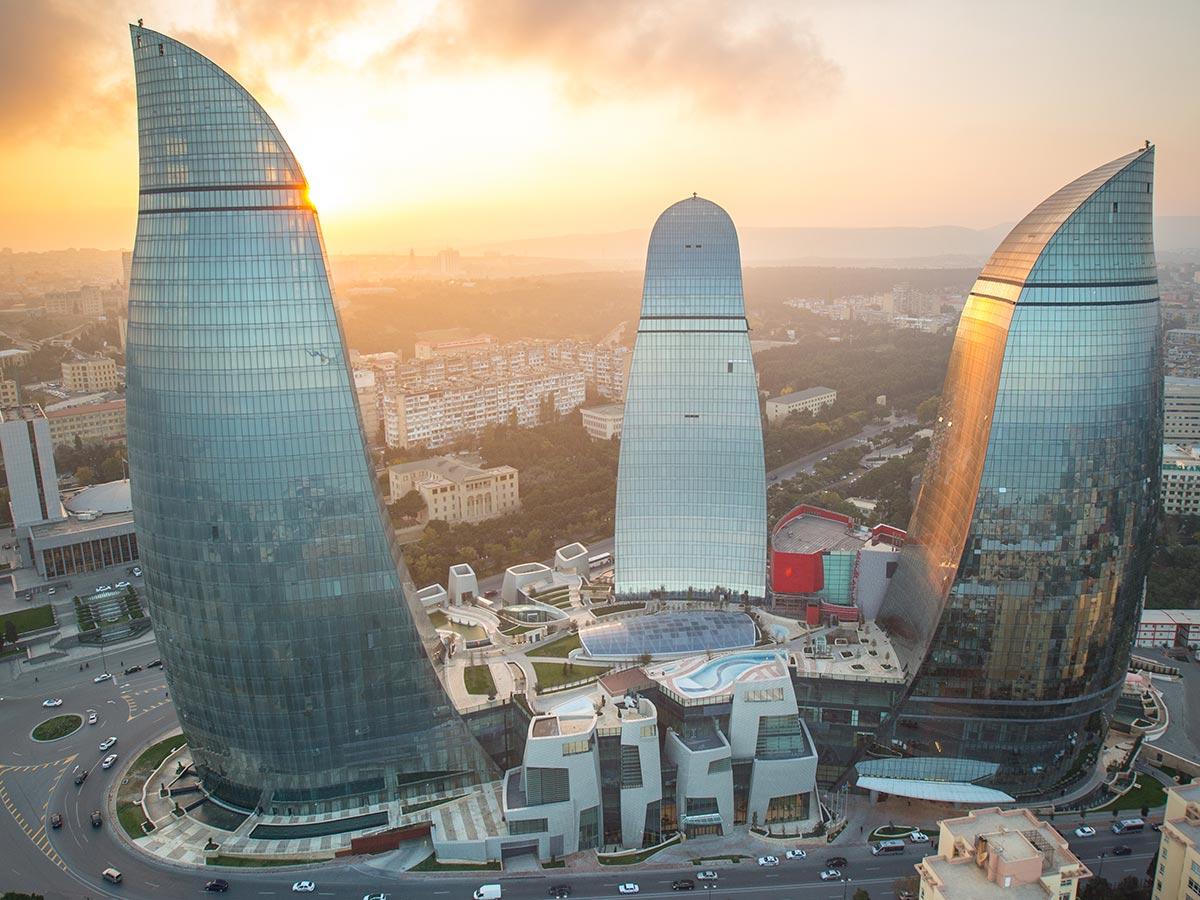 بازدید از مکان های گردشگری باکو