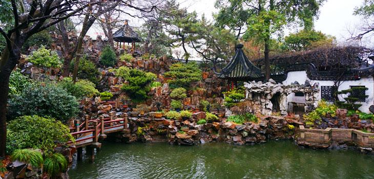 باغ یو از جاذبه های گردشگری شانگهای