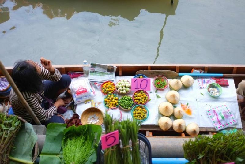 بازار شناور بانگ خو ویانگ