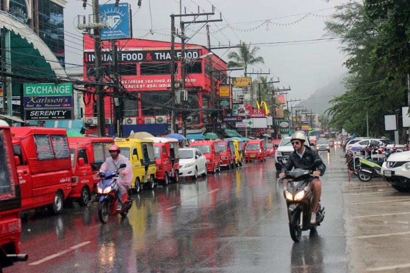 حمل و نقل در سفر به بانکوک
