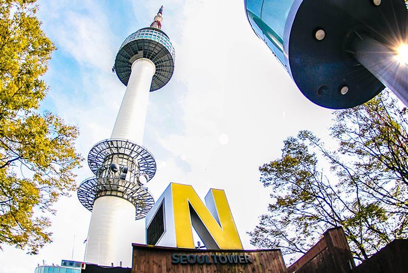 برج N از مکان های دیدنی سئول