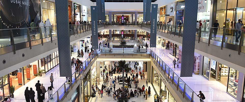 برند های عرضه شده در مرکز خرید دبی مارینا مال