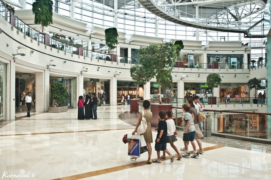 طبقات مرکز خرید ایستینیه پارک استانبول