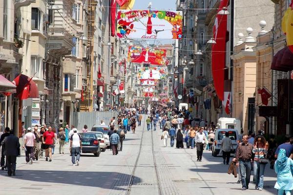 موقعیت جغرافیایی بازار مرتر در استانبول