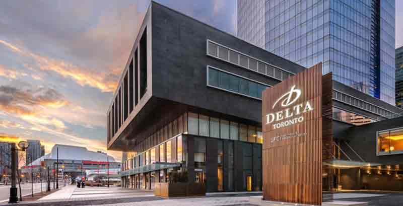 هتل های ۴ ستاره تورنتو هتل دلتا
