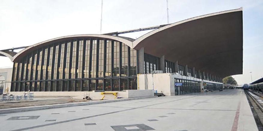 ساختمان ایستگاه راه آهن مشهد