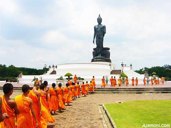 آداب ورسوم مردم تایلند