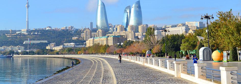 موقعیت مکانی باکو