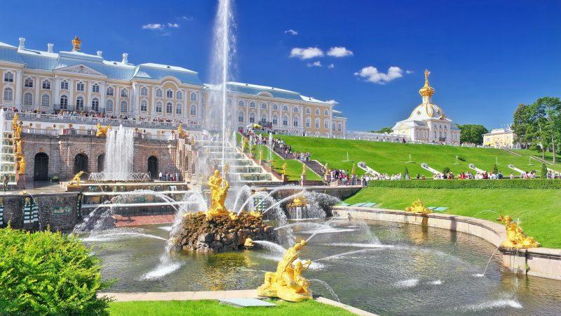 کاخ پترهوف سنت پترزبورگ